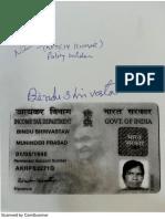 Bindu Shrivastaw