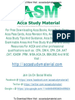 ACCA F5 2015 Study material