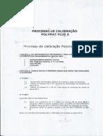 Processo de Calibração Polymat Plus s