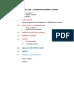 Panduan Format Penulisan Laporan Penyelidikan Tindakan