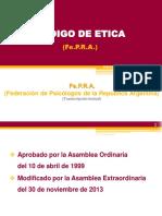Codigo de Etica de Fepra (by CA)