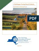 Demographic Challenges Facing Rural Schools