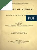Diseases of Memory