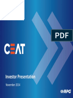 CEAT Investor Presentation_Nov'14