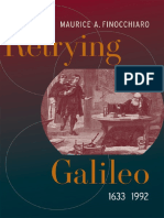 FINOCCHIARO ¢ Retrying Galileo, 1633-1992 [KW science; astronomy].pdf