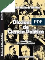 De Mahieu Jacques - Diccionario de Ciencias Política