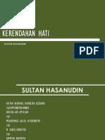 KERENDAHAN HATI