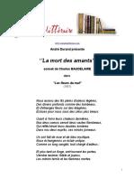 417 Baudelaire La Mort Des Amants