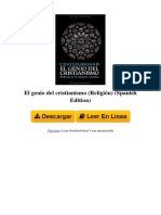 9NXE El Genio Del Cristianismo Religin Spanish Edition by Franois Ren de Chateaubriand B00880UPQ8