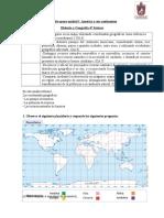 Guía de apoyo unidad I  América y sus continentes Historia 4° basicos