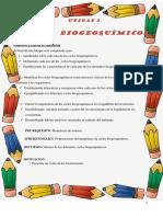 8vo Basica U3 Ciclos Biogeoquimicos