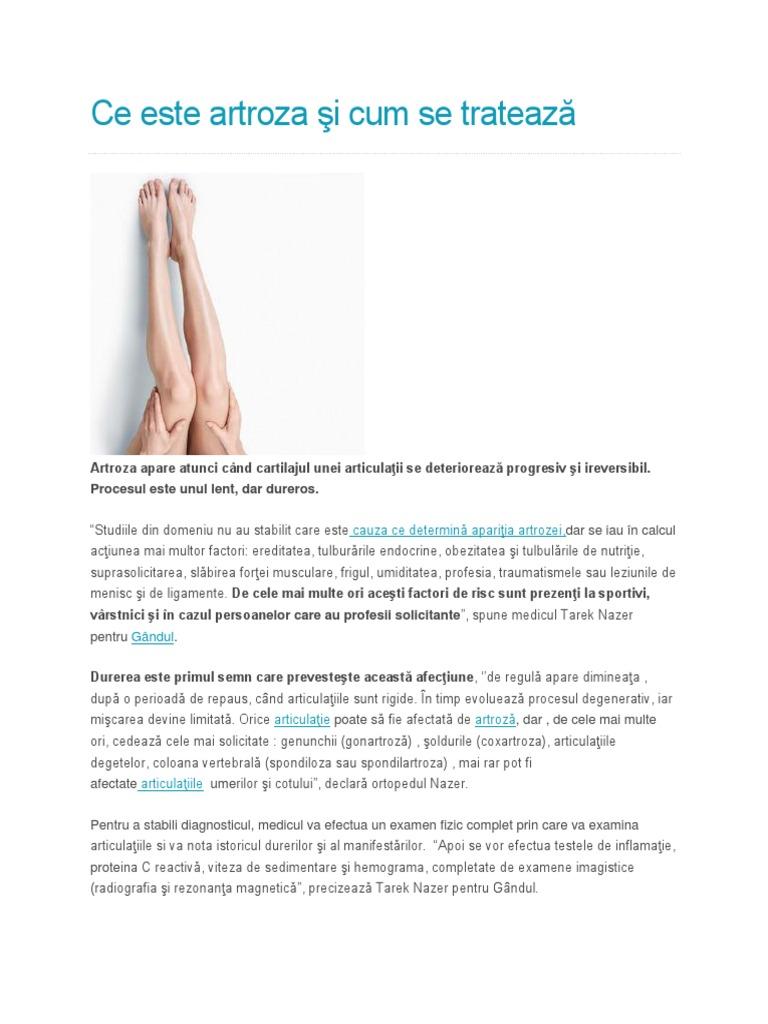 Poate artroza să fie tratată cu frig