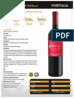 Portuga Tinto - Vinho Em Casa