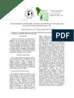 Transformações na Paisagem. Erosão e ravinamento no sítio geológico Buraco do Padre - Ponta Grossa - PR.pdf
