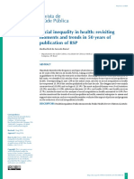 04 Social Inequality in Health