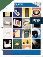 Prescolite Product Selection Guide 42PSG 1992