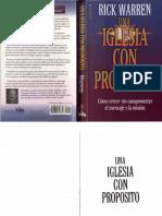 208 Rick Warren - Una Iglesia Con Proposito.pdf