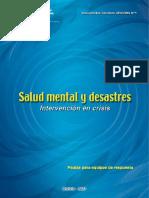 Salud Mental y Desastres
