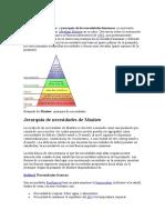 Administarcion Pirámide de Maslow