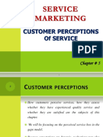Chapter-5 - Customer Perceptions of Services