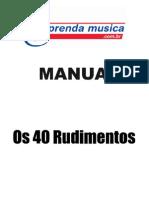 Manual Vera Os 40 Rudimentos