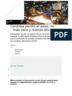 Córdoba Perdió El Paso