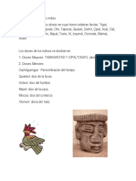 Algunos Dioses de Los Indios