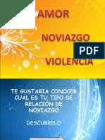 VIOLENCIA NOVIAZGO