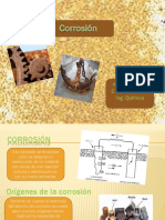 Ingenieria de La Corrosion