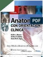 Anatomía con orientación clínica 6° - Keith L. Moore (JSM)