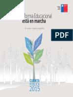 Reforma Educacional 2015