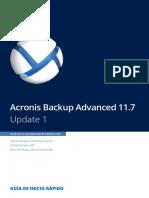 AcronisBackupAdvanced 11.7 Quickstart Es-ES