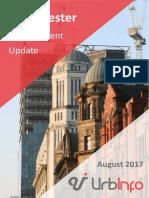 Urbinfo Manchester Development Update August 2017