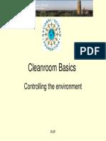 Cleanroom Basics