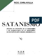 Mauricio Carlavilla - Satanismo