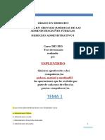 ESPLENDIDO Test Derecho Administrativo I Versión II.pdf