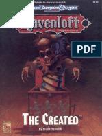 AD&D - Ravenloft - RM2 - The Created (2-4) - Copy