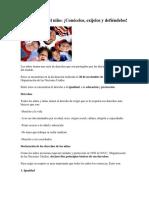 Los derechos del niño.docx