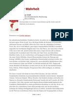 Kritisch-lesen.de - Politik Der Wahrheit