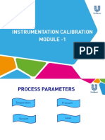 Instrumentation Caliberation Module 1( Temperature)