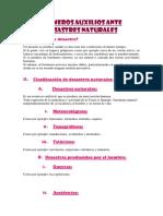 PRIMEROS AUXILIOS ANTE DESASTRES NATURALES.docx