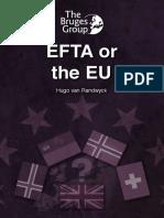 [The Bruges Group] EFTA or the EU.pdf