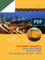 Buku 3 Executive Summary RUPTL 2015 2024E