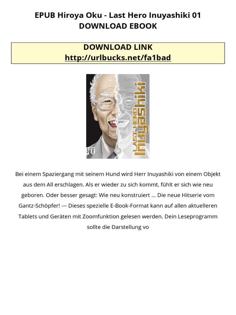 Epub hiroya oku last hero inuyashiki 01 download ebook epub hiroya oku last hero inuyashiki 01 download ebook nicaragua books fandeluxe Document