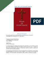 Ritual del Exorcismo Catolico - Congregacion para el Culto Divino.pdf