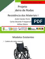 Calculos- Cadeira de Rodas