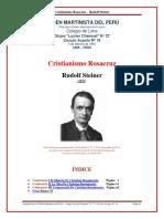 Rudolf Steiner Cristianismo Rosacruz