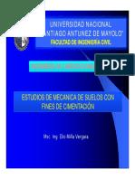 Cap I Estudios de Mecánica de Suelos E-050