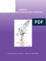 11.1 Manual Para El Uso No Sexista Del Lenguaje 2011