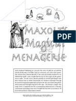LL - Maxolts Magical Menagerie 01